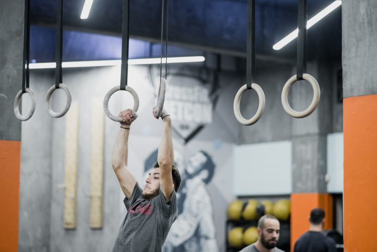 ring muscle ups-crossfit metcon